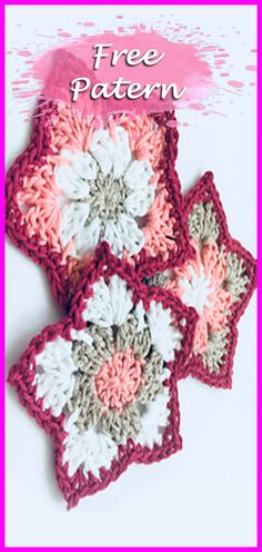 How to Crochet a Pointed Petal Flower | Free Pattern PDF Download, Crochet Flowers Free Pattern, Flower, Crochet, Free, Pattern, Free Pattern, Tips, Crafts, Easy, Beginners, tiny, mini, rose, yarn, hook, stitch, tutorial. #crocheting #YarnOfCrochet #crochet #crochetpattern #freepattern #crochetaddict