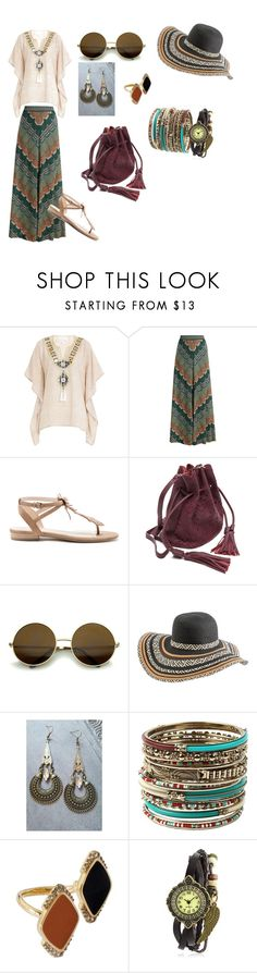 """""""Бохо лето."""" by grachy-elena ❤ liked on Polyvore featuring Gooshwa, Missoni, Sole Society, Rip Curl, Amrita Singh, Misis and Bling Jewelry"""