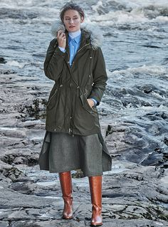 The Coat Portfolio | Simons #Contemporaine #Women #MaisonSimons #WinterCoat #Fashion