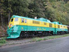 White Pass and Yukon Class 90 Diesel Locomotives.