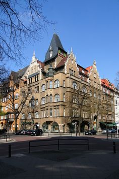 Bleibtreu- Ecke Mommsenstraße
