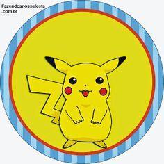 Pokemon: Etiquetas para Candy Bar para Imprimir Gratis.
