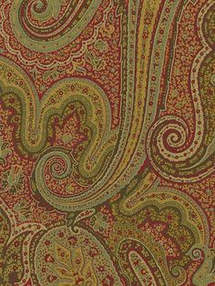 686290 - Paisley Wallpaper | Brooks Brothers | AmericanBlinds.com | $54.12/double roll