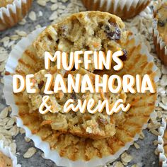 Te van a encantar y además son muy fáciles de preparar. Mexican Dessert Recipes, Apple Dessert Recipes, Apple Recipes, Sweet Recipes, Baking Recipes, Desserts Keto, Deli Food, Tasty Videos, Healthy Muffins