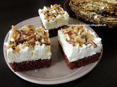 Raspberrybrunette: Tvarohový zákusok s margotkou Veľmi jemný a úžas... Sweet Desserts, Sweet Recipes, Dessert Recipes, Russian Recipes, Pavlova, Baked Goods, Tiramisu, Sweet Tooth, Cheesecake