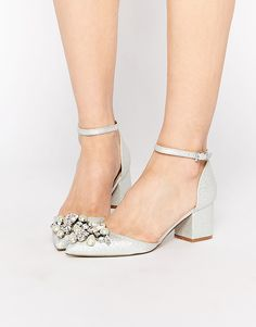 Image 1 of ASOS SPARKLE Pointed Heels