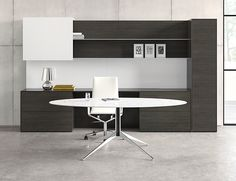 Thumbnail - Freestanding Application with Satin Etched Glass Desk and Sliding Hood & 56 best Modern Office Desks images on Pinterest in 2018 ...