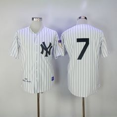 d63304b7e 2017 MLB New York Yankees 7 no name White 1951 Throwback Jerseys