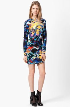 Christopher Kane Brain Print Dress available at #Nordstrom