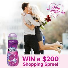 Enter daily to win a $200 shopping spree & a year's supply of Purex Crystals! #Sweepstakes Ends 4/29.