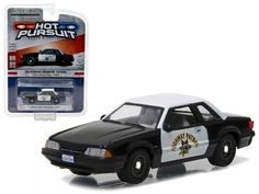 1990 Ford Mustang SSP California Highway Patrol (CHP ) Hot Pursuit Series 21 1/64 Diecast Model Car by Greenlight - Brand new 1:64 scale car model of 1990 Ford Mustang SSP California Highway Patrol (CHP ) Hot Pursuit Series 21 die cast model car by Greenlight. Limited Edition. Has Rubber Tires. Comes in a blister pack. Detailed Interior, Exterior. Metal Body and Chassis. Officially Licensed Product. Dimensions Approximately L-2 1/2 Inches Long.-Weight: 1. Height: 5. Width: 9. Box Weight: 1…
