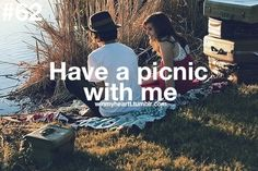 Have A Picnic With Me <3