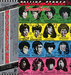 For Sale - Rolling Stones Some Girls + Obi Japan  vinyl LP album (LP record) - See this and 250,000 other rare & vintage vinyl records, singles, LPs & CDs at http://eil.com