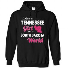 A TENNESSEE-SOUTH DAKOTA girl Pink04 - #hoodies womens #ugly sweater. LOWEST PRICE => https://www.sunfrog.com/States/A-TENNESSEE-2DSOUTH-DAKOTA-girl-Pink04-Black-Hoodie.html?68278
