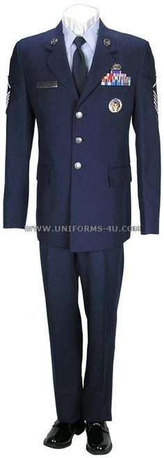 Vintage air force uniform know the