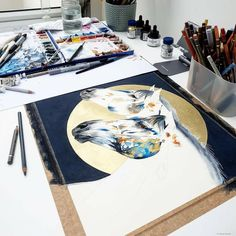 Studio photo,  if you saw my stories recently my lovely clean desk didn't stay that way for long. 🖌  I'm just popping down the base colours and then I will be working on the detail and textures to really make the piece pop.  Collection title: Lunar 🌑🌒🌓🌔🌕🌖🌗🌘🌑 . . . . #lunarnewyear2020 #lunar #moon #mooncycles #nature #horsepainting #horseriders #horseartwork #modernanimalart #modernartwork #contemporaryart #contemporaryartists #londonartgalleries #londonartstudio #londonartshows Contemporary Artwork, Contemporary Artists, Lunar New Year 2020, Clean Desk, Lunar Moon, Chloe Brown, Horse Artwork, Pop Collection, London Art