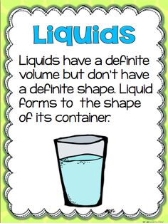 Matter: Solids, Liquids, & Gas - Second Grade 1st Grade Science, Kindergarten Science, Science Classroom, Teaching Science, Science Resources, Science Lessons, Science Activities, Science Experiments, Science Projects For Kids