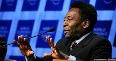 S1 Notícias | Pelé critica atraso nos estádios da Copa: 'É uma vergonha'