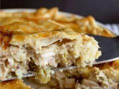 Pastel de pollo, Chicken pie