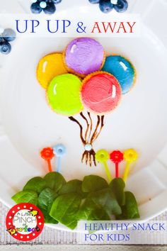 Up Up and Away Healthy Kid Snack (Click & Chat Social Media Link Up) - A Little Pinch of Perfect