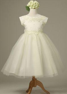 Ivory Gorgeous Flower Girl Dress