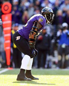 Ray Lewis at M Bank Stadium Picture at Baltimore Ravens Photo Store