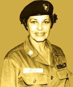 Martha Raye was not only an entertainer, but also was an officer and nurse in the Army reserve. She performed on stage and in the operating room during the Viet Nam war. She's buried in the Special Ops cemetary at Fort Bragg.