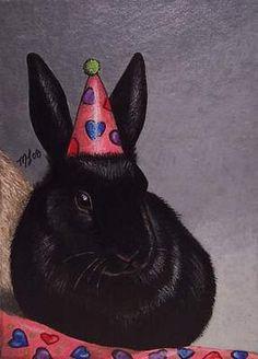 Bunny Rabbit Art