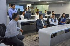 Today NITI Aayog Delegation from central government paid visit to Ahmedabad Municipal Corporation. Shri Arvind Panagariya Ji vice chairman, Shri Amitabh Kant Ji CEO Niti Aayog with other delegation member reviewed affordable housing scheme running under AMC and various projects under #SmartCity mission.  Municipal commissioner Shri Mukesh Kumar Ji gave them phase wise details of various housing projects running under PMAY and Mukhya Mantri Aavas Yojana EWS & LIG Scheme. Deputy Municipal…