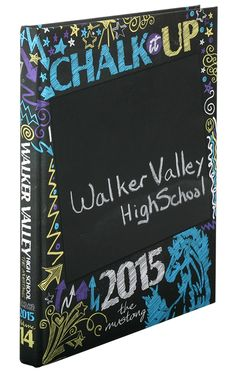 Leave title and school permanent but the rest chalk board for people to draw/write on Yearbook Class, Yearbook Pages, Yearbook Covers, Yearbook Spreads, High School Yearbook, Yearbook Theme, Yearbook Design Layout, Yearbook Layouts, Yearbook Ideas