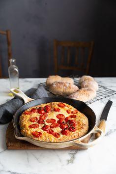 Easy ciabatta panini & cheese & tomato breadrecipe