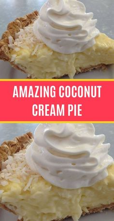 Ingredients: 1 baked pie crust cup sugar cup cornstarch 2 tablespoons all-purpose Coconut Bars, Coconut Cream, Cream Pie, Whipped Cream, Baked Pie Crust, Toasted Coconut, Corn Starch, Deserts, Goodies