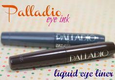 Palladio Smokey and Dark Brown Eye Ink Felt Tip Liquid Eyeliner