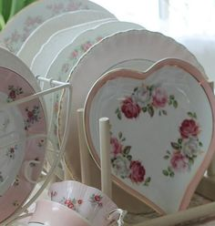 Valentine Love, Different Aesthetics, Polly Pocket, Pink Aesthetic, Aesthetic Pictures, Pretty In Pink, Tea Party, Heart Shapes, Girly