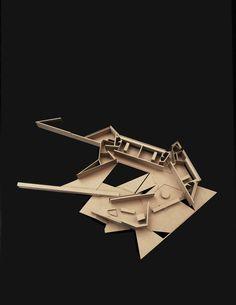 Casa Tula,Model. Image © Patkau Architects
