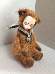 Шарлотта. Тедди долл – купить в интернет-магазине на Ярмарке Мастеров с доставкой - G2PJFRU   Москва