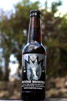 Beer label art that I created. Danish Monster - Lemon IPA 6.2% - Detailed item view - Celtic Beers Online - Craft and Wholesale Beer Store