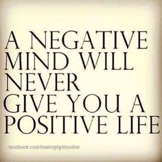 Inspirational Quote: Be positive cleanse your brain Dr caroline Leaf