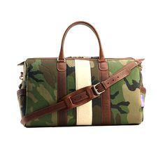 Monte & Coe - Westpoint Cotton Camo Canvas Bag