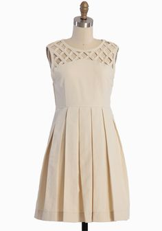 Lily Pleated Dress By Dear Creatures | Modern Vintage Dresses