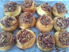 Cinnamon and pecan rolls