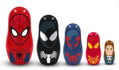 Spider-Man Marvel Nesting Dolls