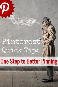 Pinterest tip: one step to better pinning. http://scalablesocialmedia.com/2015/02/pinterest-better-pinning/ via @scalablesocial by @alisammeredith