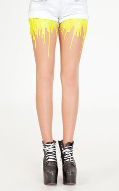paint dripping tights  http://www.fashionbyhe.com/2012/11/dripping-paint-tights-are-unreal.html