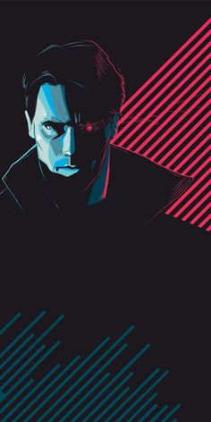"craigdrake: "" ""Tech Noir"" - Giclee edition of 84. """
