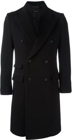 Shop designer double-breasted coats for men at Farfetch and discover classic styles from Saint Laurent, Prada & more. Mens Overcoat, Black Camel, Double Breasted Coat, Gentleman Style, Marc Jacobs, Suit Jacket, Mens Fashion, Stylish, Men's Outerwear