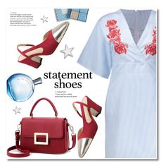 """Statement shoes"" by svijetlana ❤ liked on Polyvore featuring Vera Bradley, statementshoes and zaful"