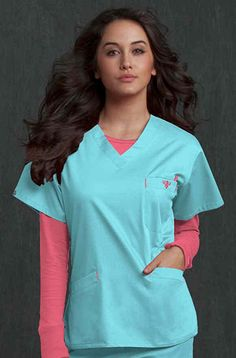 I love Med Couture scrubs! Stylish Scrubs, Medical Scrubs, Nursing Scrubs, Cute Scrubs, Scrubs Uniform, Dental Assistant Jobs, Casual Work Outfits, Rain Wear, Work Shirts