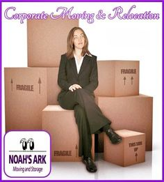 Whether you're moving a small office overnight, or relocating thousands of employees over a few weeks, Noah's Ark Moving & Storage has the knowledge and experience to deliver a smooth transition for your relocating business.