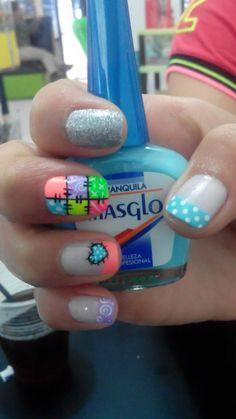 nails - masglo . art nail Cute Pedicure Designs, Nail Designs, Gorgeous Nails, Pretty Nails, Spring Nails, Summer Nails, Hair And Nails, My Nails, Cute Pedicures